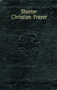 SHORTER CHRISTIAN PRAYER - BLACK LEATHER COVER