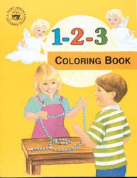 CATHOLIC 1 2 3 COLORING BOOK