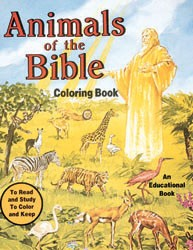 ANIMALS OF THE BIBLE COLORING BOOK