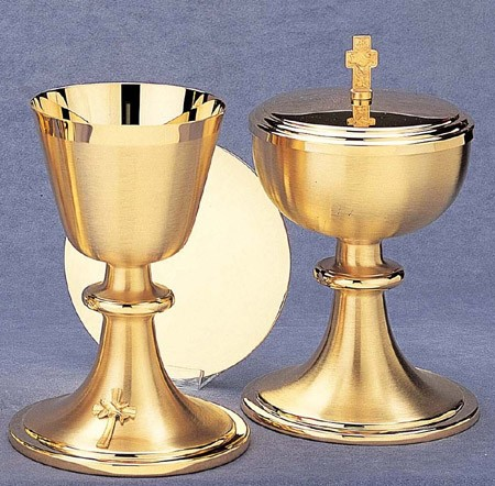 CHALICE 14oz WITH SCALE PATEN