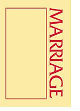 A SOURCE BOOK ABOUT MARRIAGE
