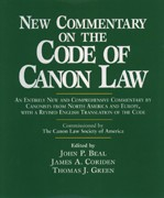 NEW COMMENTARY ON THE CODE OF CANNON LAW