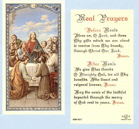 Sacco Company > Holy Cards > Laminated Holy Cards