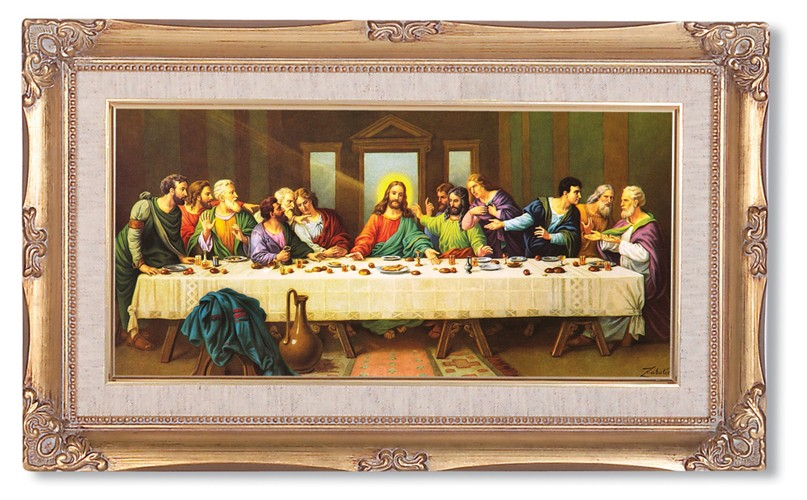THE LAST SUPPER - ZABATERI