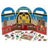MY LITTLE CHURCH MAGNETIC PLAY SET