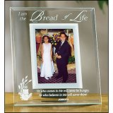 FIRST COMMUNION GLASS PHOTO FRAME