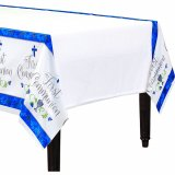 BLUE PAPER TABLE COVER