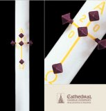 Plain Paschal Candle