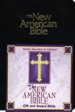 NAB GIFT BIBLE BURGUNDY IMITATION LEATHER