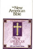 NAB GIFT BIBLE IMITATION LEATHER WHITE