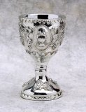 SILVER PLATED RESIN CHALICE