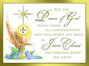 Priest Christmas Card - 04-6120
