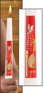 10 inch CONFIRMATION CANDLE