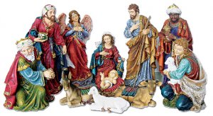 NATIVITY SET 8 INCH - 690801