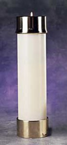 "3-1/2"" DIAMETER CANDLE SHELL"